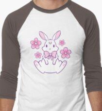 Sakura Bunny 02 Men's Baseball ¾ T-Shirt