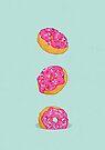 Doughnuts by Evgenia Chuvardina