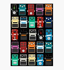 Pedal Board Photographic Print