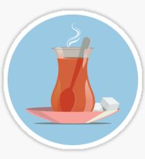 Turkish Tea Sticker