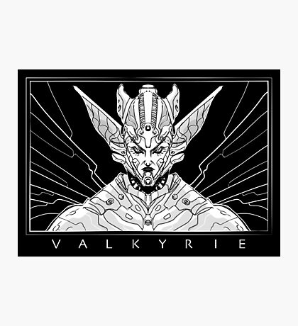 Space Valkyrie Photographic Print