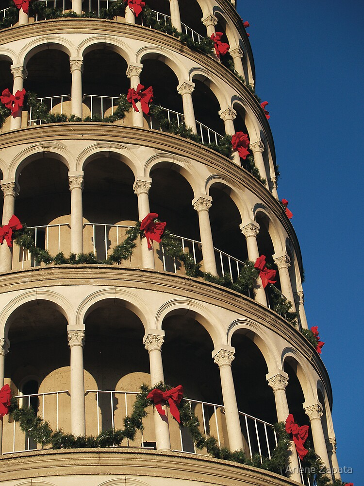 Leaning Tower of USA 2 by Arlene Zapata
