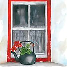 Red Window by Anthony Billings