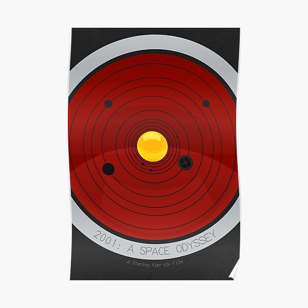 2001 - A SPACE ODYSSEY (1968) Poster