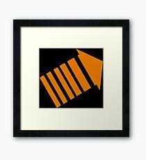 legion arrow Framed Print