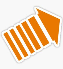 legion arrow Sticker