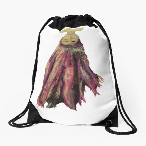 Hair Down Drawstring Bag