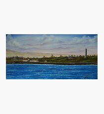 Scattery Island - oil painting  Photographic Print