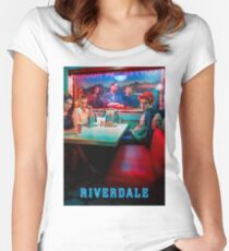 Riverdale season 1 Women's Fitted Scoop T-Shirt