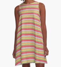 Knitted pattern A-Line Dress