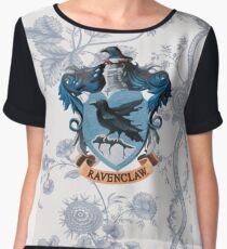 Ravenclaw Floral Women's Chiffon Top