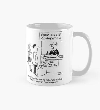 Quiz Hosts' Convention Hotel Check-In Mug