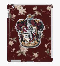 Gryffindor Floral iPad Case/Skin