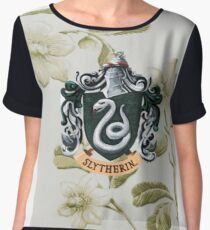 Slytherin Chiffon Top