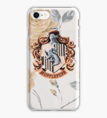 Hufflepuff Floral iPhone Case/Skin
