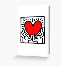 KEITH HARINGS 1 Greeting Card