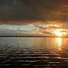 Sunset over Williamstown Docks, Melbourne, Australia. by kaysharp