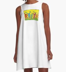 KEITH HARINGS 2 A-Line Dress