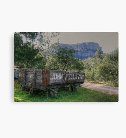 Newnes railway history Canvas Print
