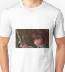 Digital Art - Sasha Braus Attack on Titan Unisex T-Shirt