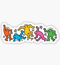 KEITH HARINGS 4 Sticker