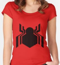 Spidey Web Women's Fitted Scoop T-Shirt