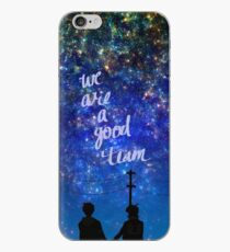 We are a good team iPhone Case