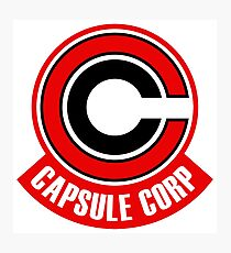 capsule corp red  Photographic Print