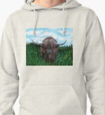 Scottish Highland Cow Pullover Hoodie