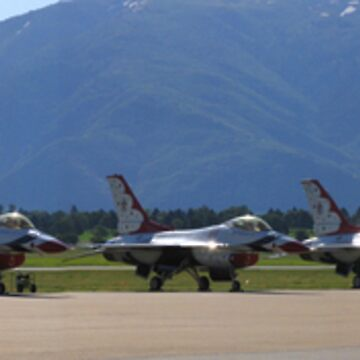 USAF Thunderbirds by BigJess