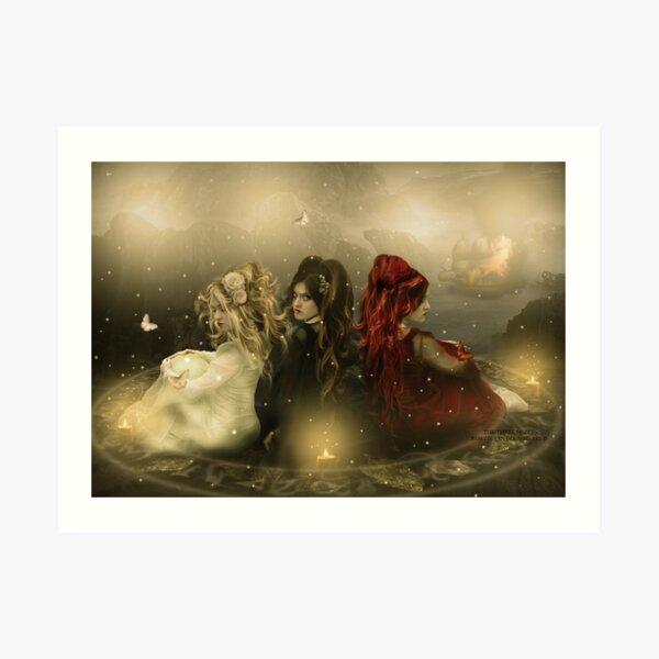 The Three Sisters Art Print