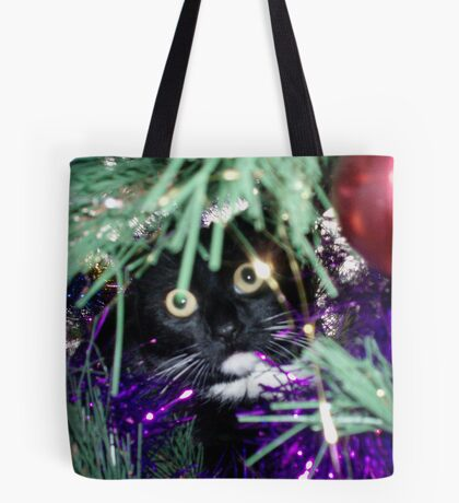 Me? I'm just decorating the tree! Tote Bag