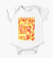 Red Orange Yellow Color Pattern Combination Kids Clothes