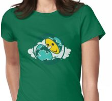 Happy Hour *earth hour project Womens Fitted T-Shirt
