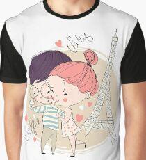 Paris Selfie Graphic T-Shirt