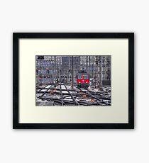 Electric Suisse  Framed Print