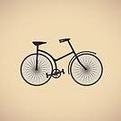 old bicycle by Alexzel