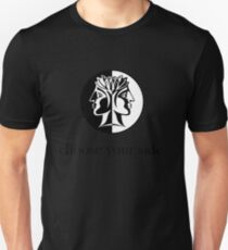 black coin Unisex T-Shirt