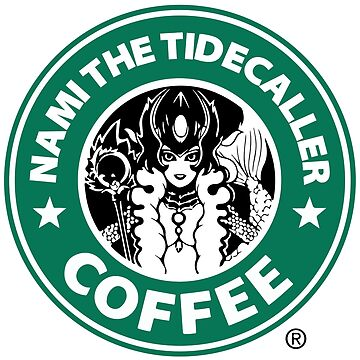 Nami the Tidecaller Coffee by superdesign