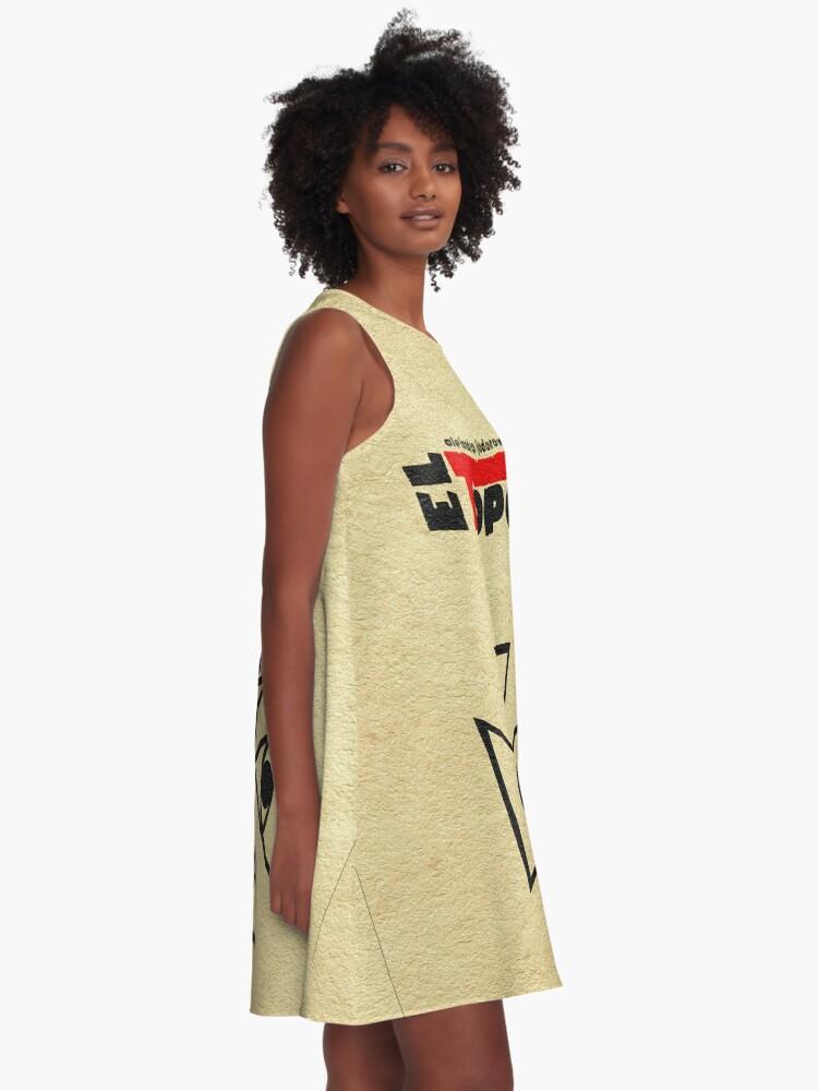 Alternative Ansicht von El Topo A-Linien Kleid