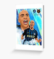 JOAO MARIO / X Greeting Card