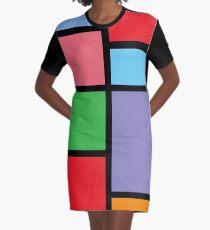 Jem - Pizzazz Color Block Graphic T-Shirt Dress