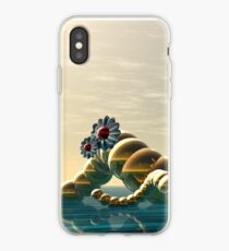 soon of spring waves iPhone Case
