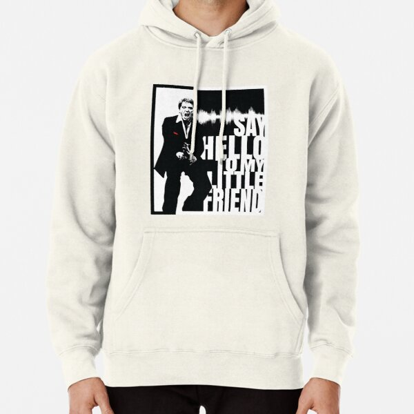 Say Hello to My Little Friend Pullover Hoodie