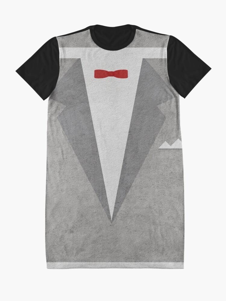 Alternate view of Pee-Wee's Big Adventure Graphic T-Shirt Dress