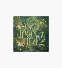 Bee Once Upon a Time Art Board