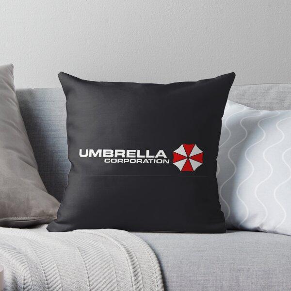 Umbrella Corporation Throw Pillow