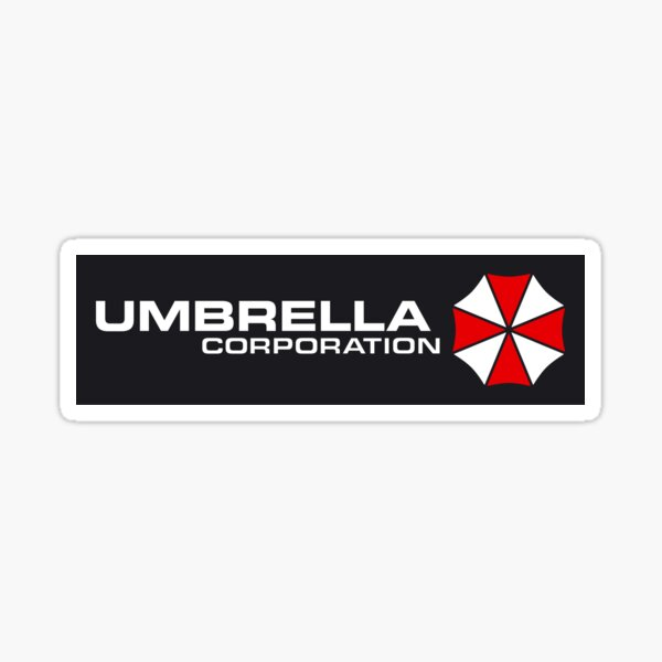 Corporación Umbrella Pegatina