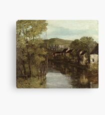 Gustave Courbet - The Reflection Of Ornans Canvas Print