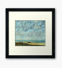 Gustave Courbet - The Sea Framed Print